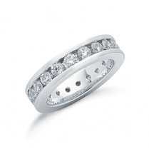 18ct White Gold Full Diamond Set Eternity Ring 2.00ct G/H Si