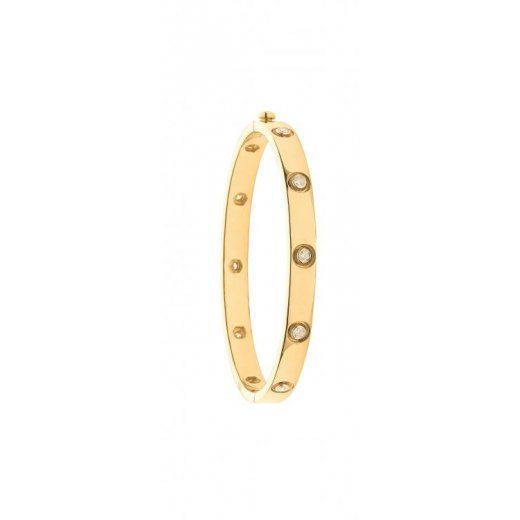 Cherubs Jewellery 18ct Yellow Gold Diamond Bangle