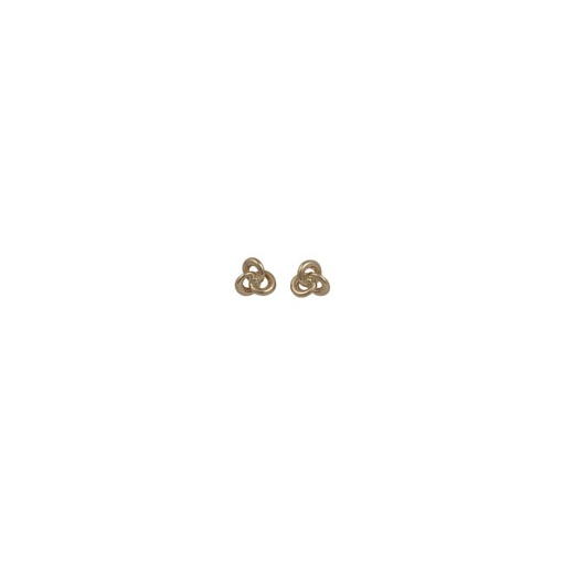 Cherubs Jewellery 9ct Rose Gold Knot Earrings