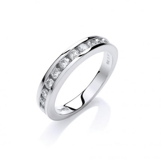 Cherubs Jewellery 9ct White Gold Diamond Eternity Ring .50ct