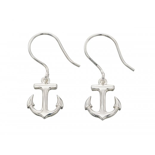 Cherubs Jewellery Anchor Drop Earrings