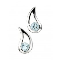 Blue Topaz Earrings Teardrop Earrings