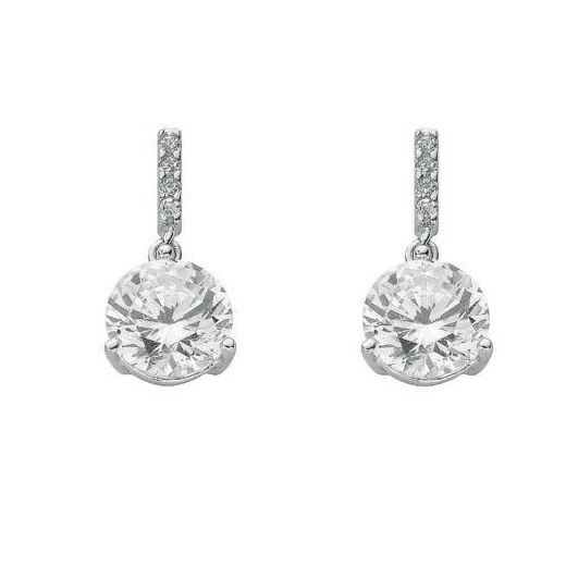 Cherubs Jewellery Drop Earrings With Cubic Zirconia