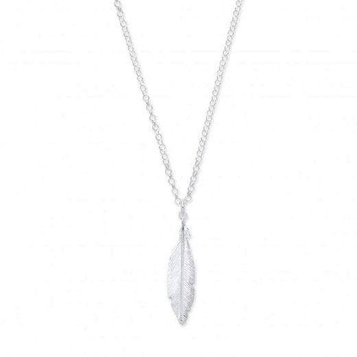 Cherubs Jewellery Feather Necklace