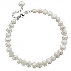 Freshwater Pearl Bracelet With Extension Chain