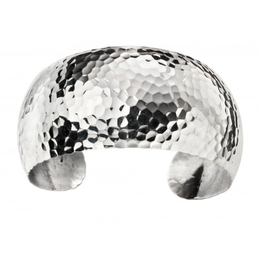 Cherubs Jewellery Hammered cuff bangle