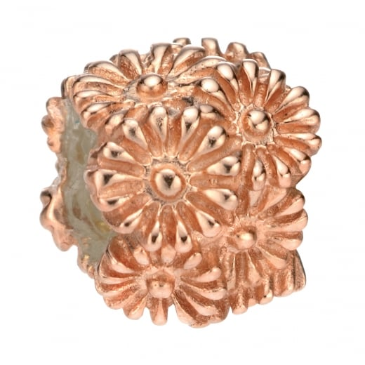 Cherubs Jewellery Mixed Flower Bead Rose Gold Plated