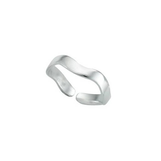 Cherubs Jewellery Plain Silver Toe Ring