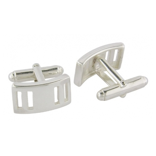 Cherubs Jewellery Rectangle Cufflinks Bar Fitting
