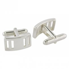 Rectangle Cufflinks Bar Fitting