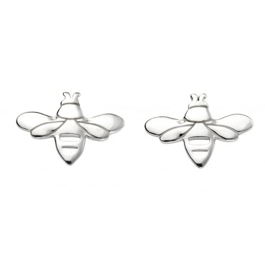 Cherubs Jewellery Silver Bee Stud Earrings