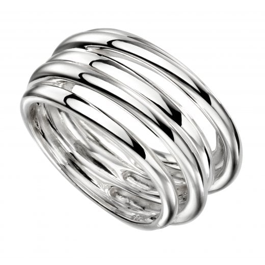 Cherubs Jewellery Silver Multi Band Ring