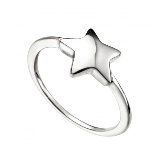 Cherubs Jewellery Silver Star Ring