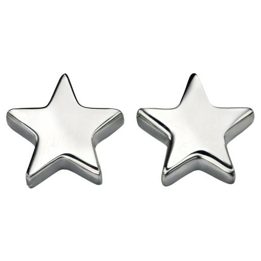 Cherubs Jewellery Silver Star Stud Earrings