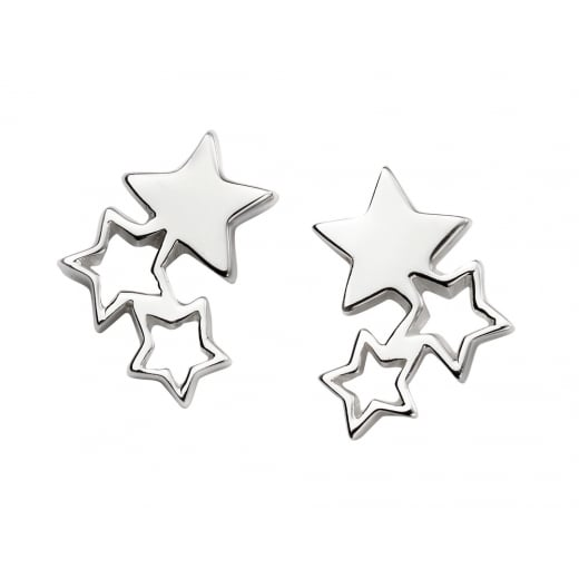 Cherubs Jewellery Triple Star Earrings
