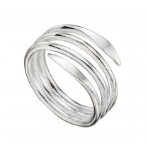 Wide Wrap Spiral Ring