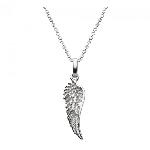 Dew Silver Angel Wing Pendant