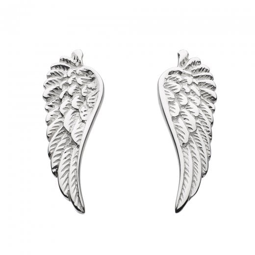 Dew Small Angel Wing Earrings
