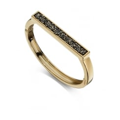 Bangle with Pave Crystals