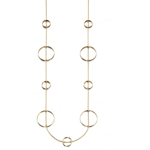 Fiorelli Costume Circle Station Necklace