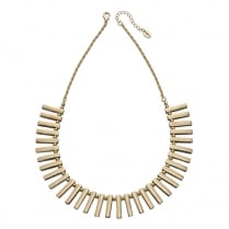 GOLD MULTI BAR COLLAR NECKLACE