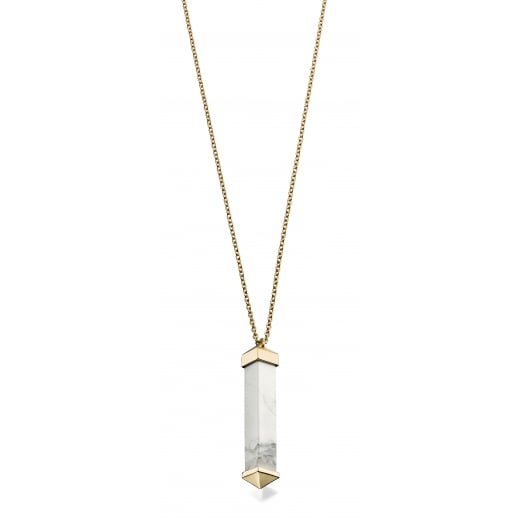 Fiorelli Costume MARBLE BAR PENDANT NECKLACE