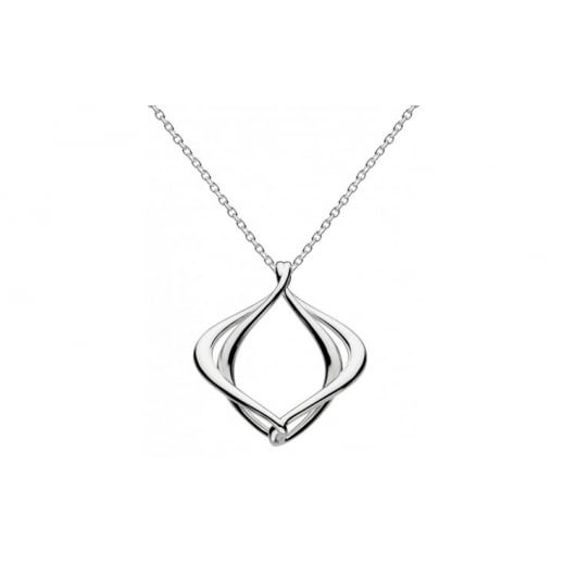 "Kit Heath Alice Necklace - Sterling Silver with an 18"" silver chain."