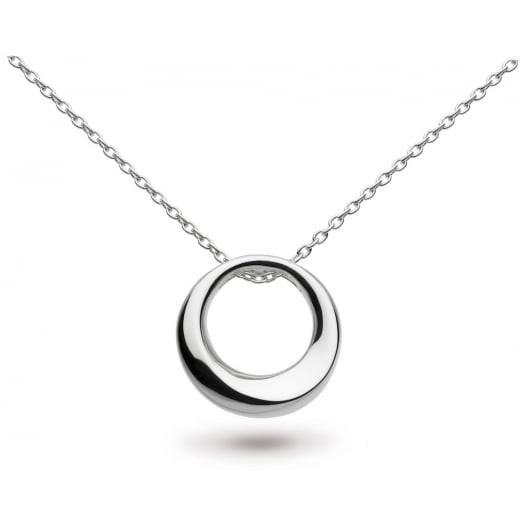 "Kit Heath BEVEL CURVE SMALL RING 20"" NECKLACE"