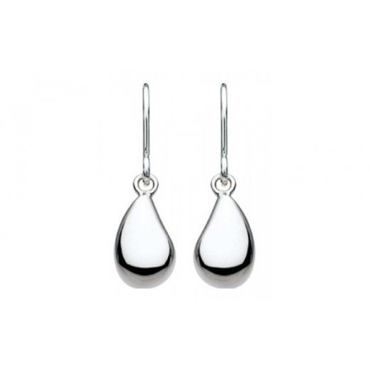 Kit Heath Seed Drop Earrings In Sterling Silver