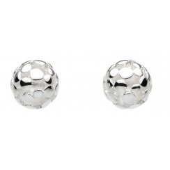 Sterling Silver Bubble Stud Earrings