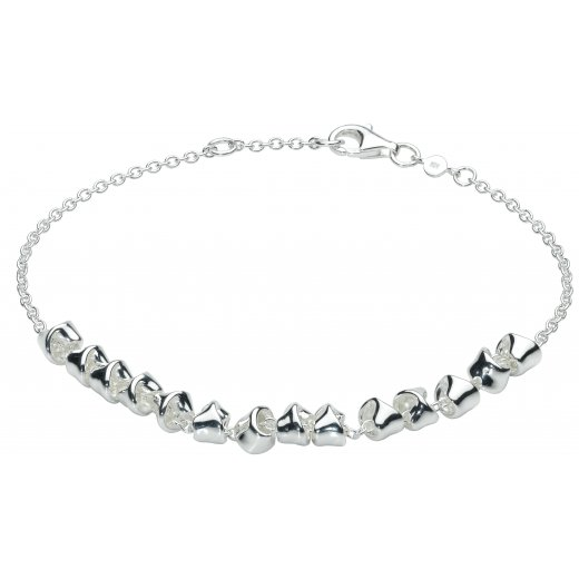 Kit Heath Sterling Silver Revolution Twist Bracelet