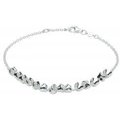 Sterling Silver Revolution Twist Bracelet