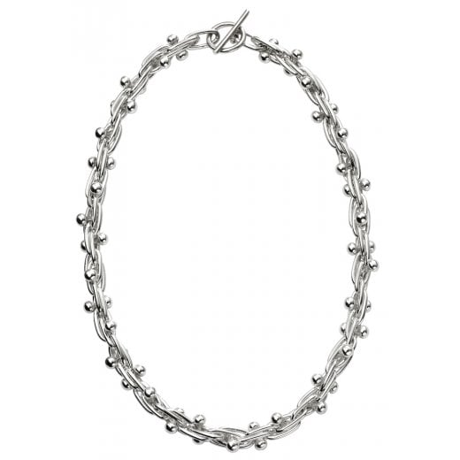 Silver Mexican Style Necklace